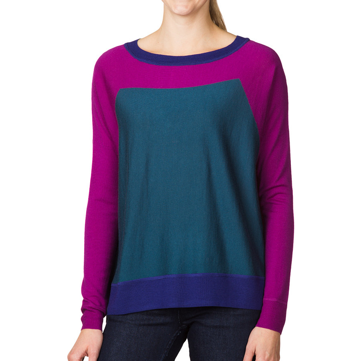 photo: Patagonia Merino Colorblock Sweater long sleeve performance top