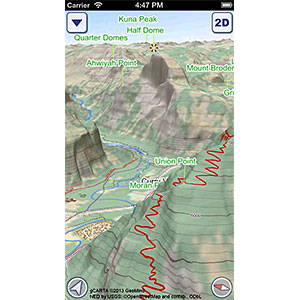 US National Parks GeoFlyer 3D Maps