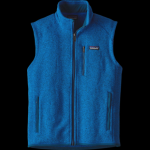 photo: Patagonia Men's Better Sweater Vest fleece vest
