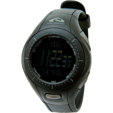 photo: Highgear Altiforce altimeter watch