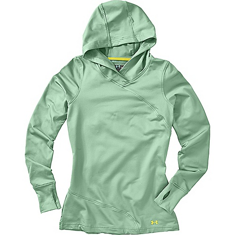 photo: Under Armour Women's Evo ColdGear Hoody long sleeve performance top