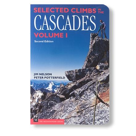 photo: The Mountaineers Books Selected Climbs in the Cascades Volume 1 us pacific states guidebook