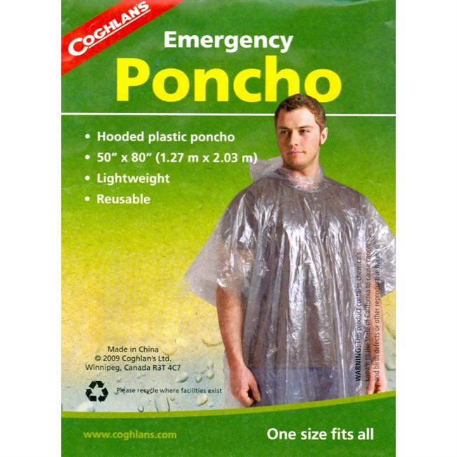 photo: Coghlan's Emergency Poncho waterproof jacket