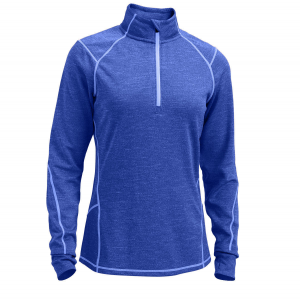 photo: EMS Women's Dual Thermo 1/2 Zip long sleeve performance top