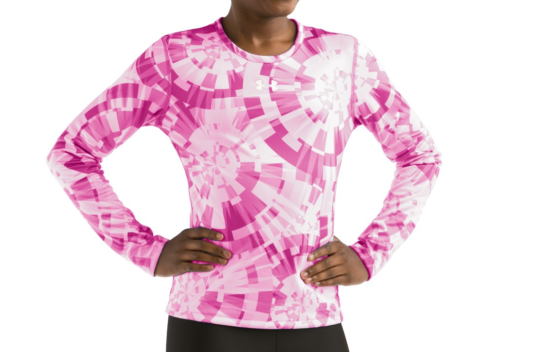 Under Armour AllSeasonGear Reversible Kaleidoscope Print Top