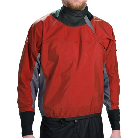 photo: Bomber Gear Blitz Long Sleeve Splash Top long sleeve paddle jacket