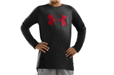 photo: Under Armour Boys' Tech Longsleeve T Shirt long sleeve performance top