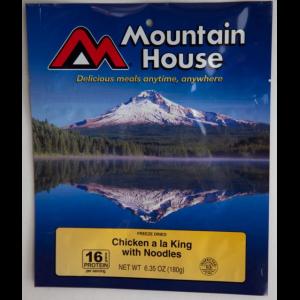 photo: Mountain House Chicken a la King with Noodles meat entrée