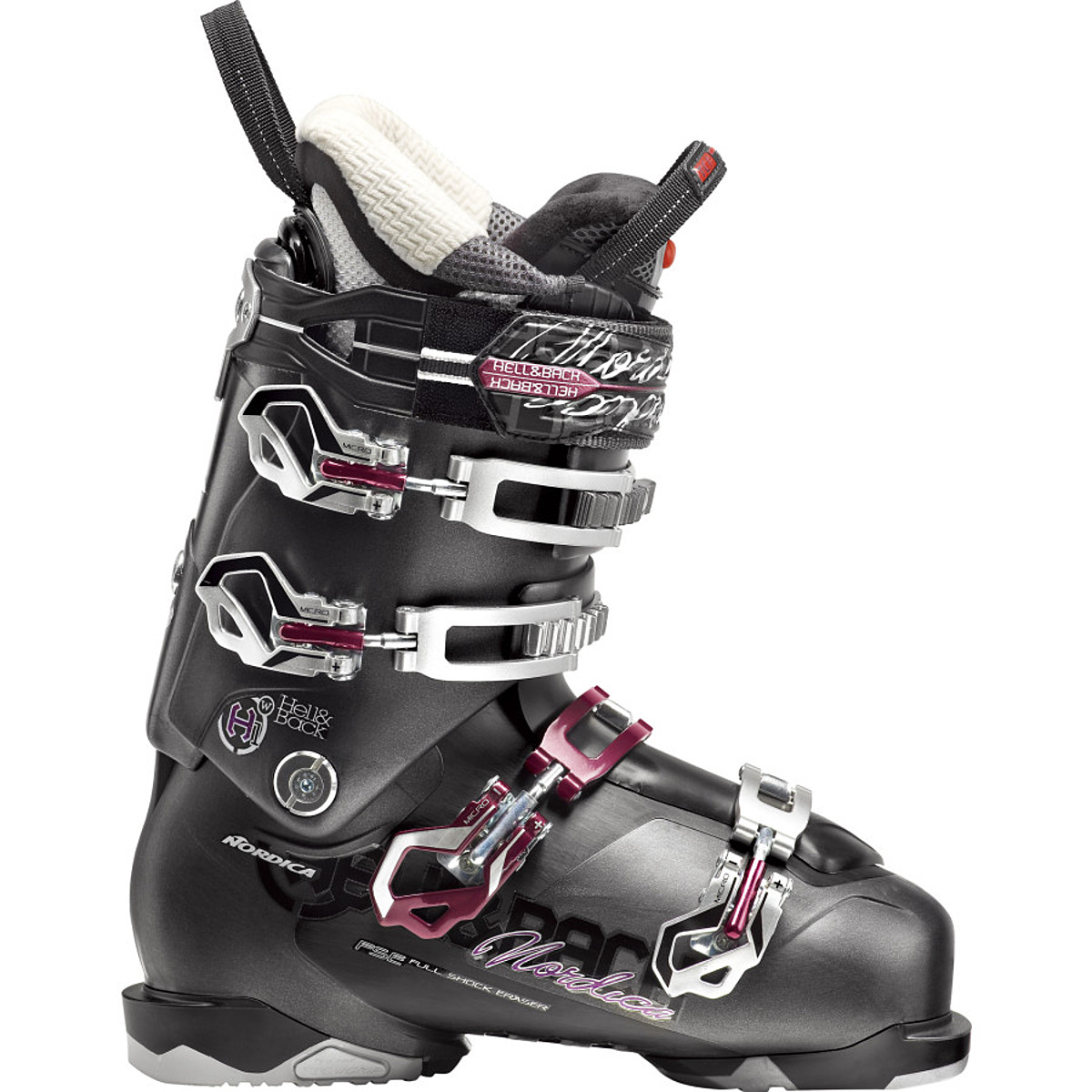 photo: Nordica Women's Hell and Back H1 alpine touring boot