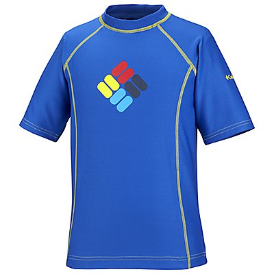 photo: Columbia Boys' Sun's Up Sunguard Short Sleeve short sleeve performance top