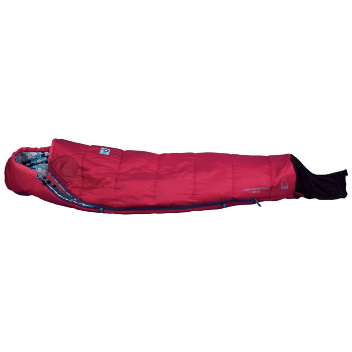 photo: Sierra Designs Dragonfly 40 warm weather synthetic sleeping bag