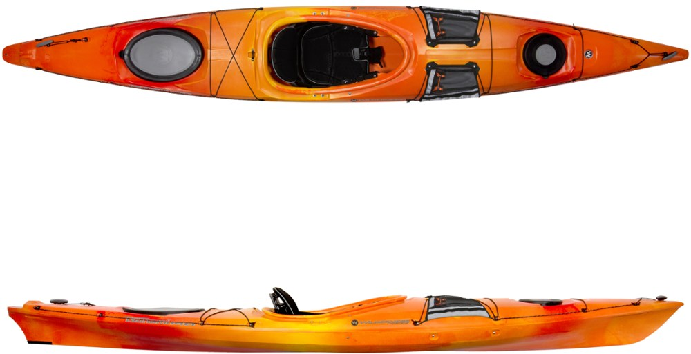 photo: Wilderness Systems Tsunami 140 with Rudder touring kayak