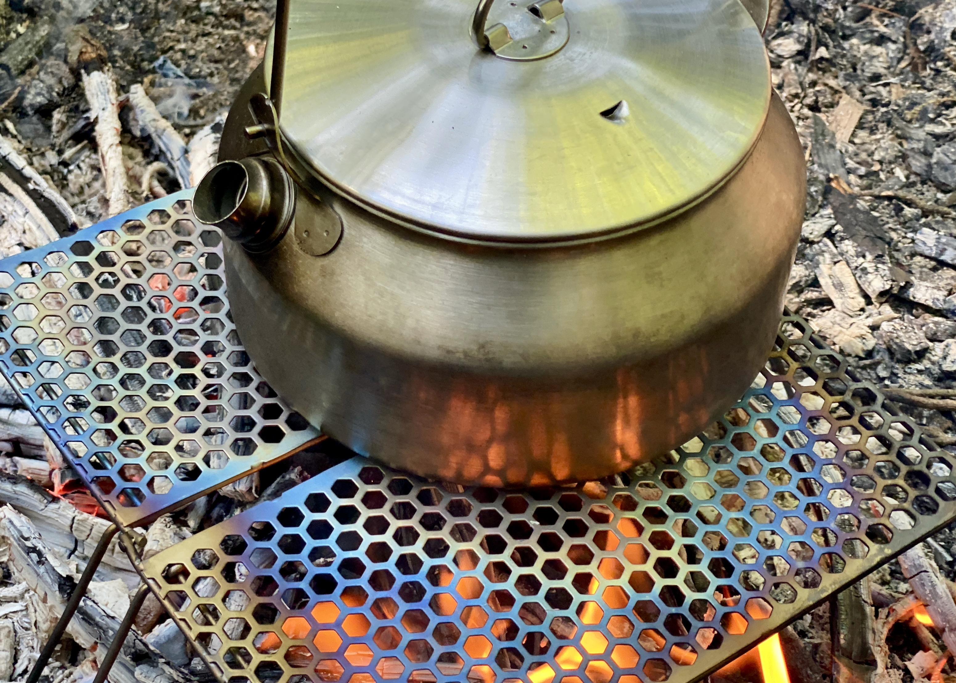 Vargo Titanium BiFold Grill
