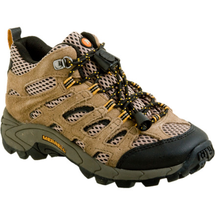 photo: Merrell Boys' Moab Ventilator Mid hiking boot