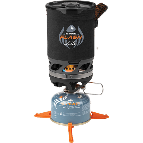 photo: Jetboil Flash Lite Cooking System compressed fuel canister stove