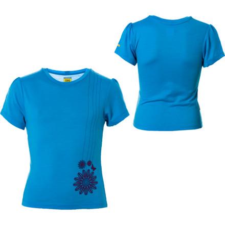 Icebreaker BodyFit150 Blossom S/S T-Shirt