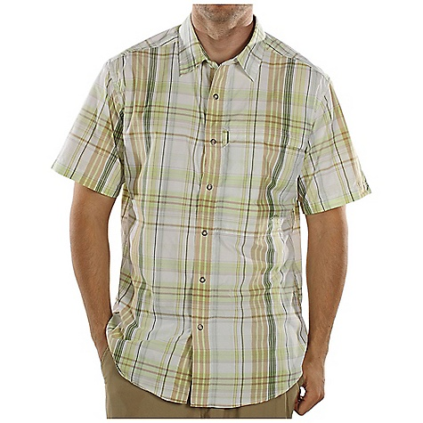 ExOfficio Trip'r Macro Plaid Short-Sleeve Shirt