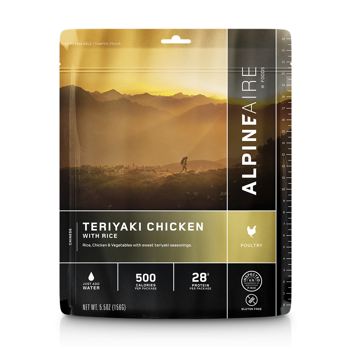 AlpineAire Foods Teriyaki Chicken with Rice