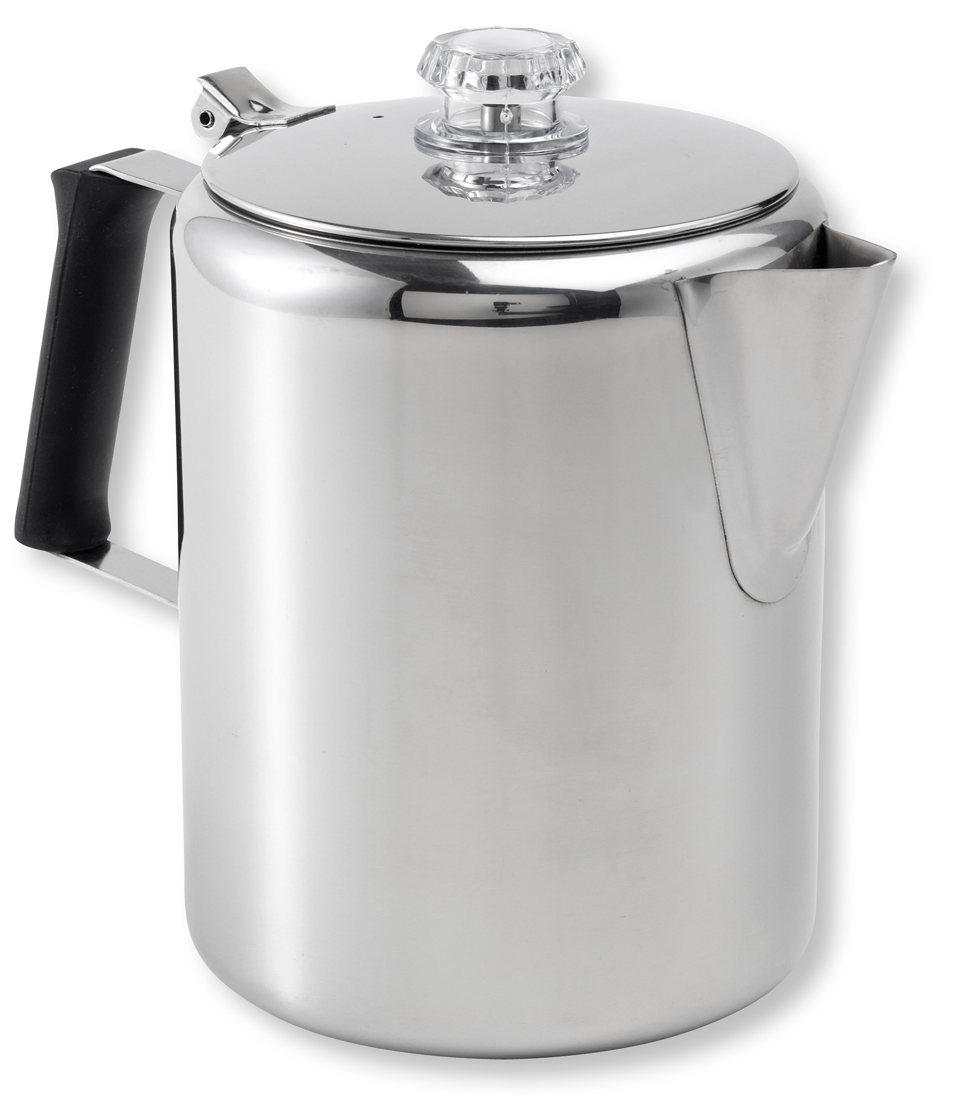 photo: GSI Outdoors Glacier Stainless 12 Cup Perc w/Silicone Handle cookware