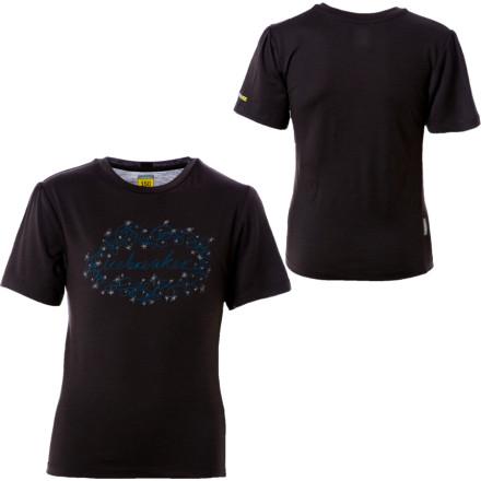 Icebreaker BodyFit150 Vines T-Shirt S/S