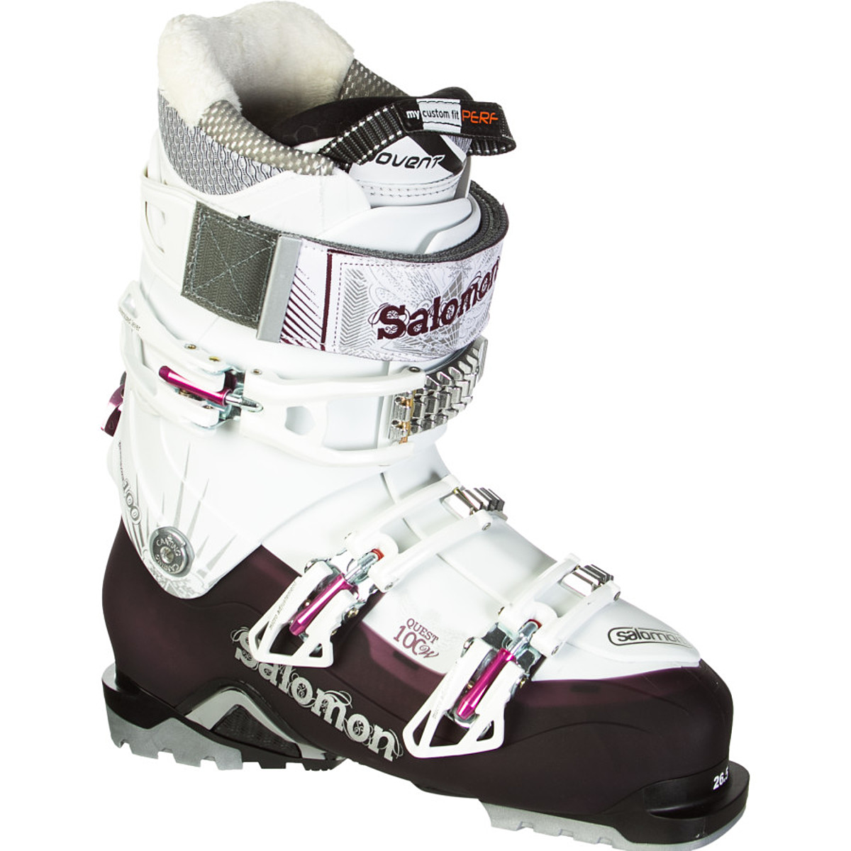photo: Salomon Quest 100 alpine touring boot