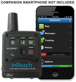 photo: DeLorme inReach handheld gps receiver
