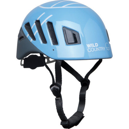 photo: Wild Country Rock Lite Helmet climbing helmet