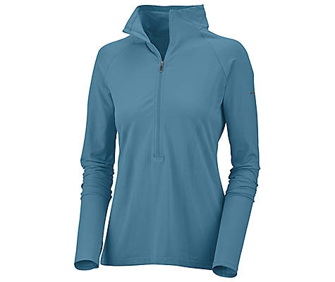 photo: Columbia Cool Rules Half-Zip Top long sleeve performance top