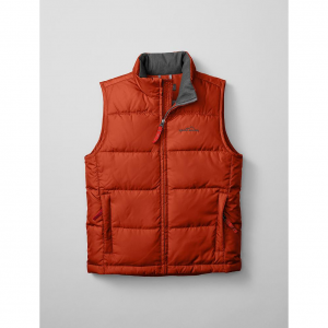 photo: Eddie Bauer Boys' Classic Down Vest down insulated vest