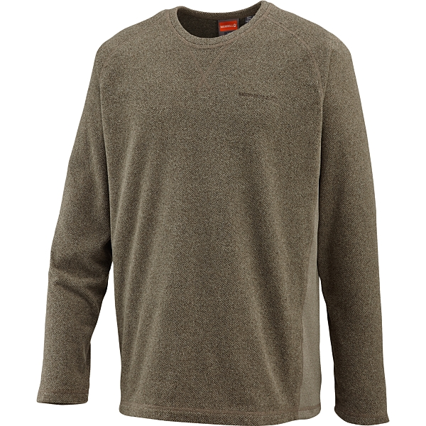 photo: Merrell Fractal Crew fleece top