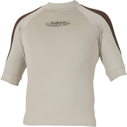 photo: Kokatat Innercore Short Sleeve Top short sleeve paddling shirt