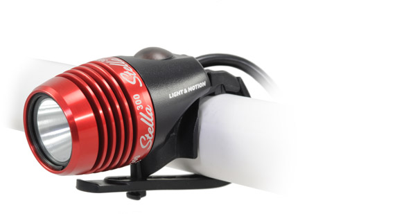 photo: Light & Motion Stella 300 headlamp