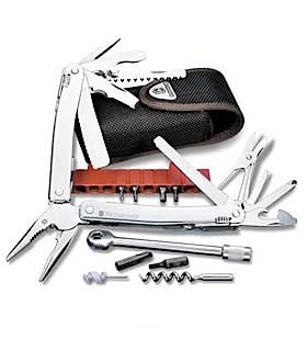 photo: Victorinox Swiss Army SwissTool Spirit Plus Ratchet multi-tool