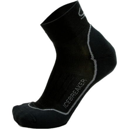 photo: Icebreaker Men's Run Lite Mini Sock running sock