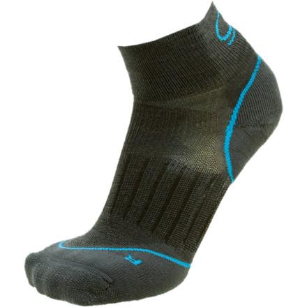 photo: Icebreaker Women's Run Lite Mini Sock running sock