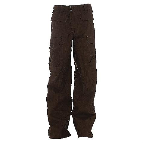 photo: Burton Ronin Cargo Pant waterproof pant