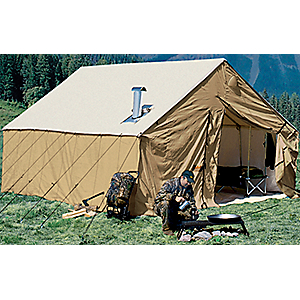 photo: Cabela's Outfitter Blend Wall Tents by Montana Canvas three-season tent