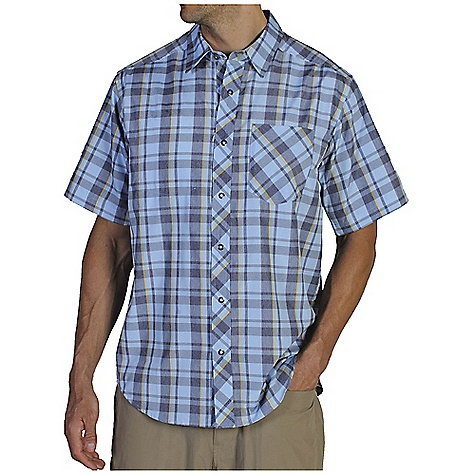 photo: ExOfficio Trip'r Short-Sleeve Shirt hiking shirt