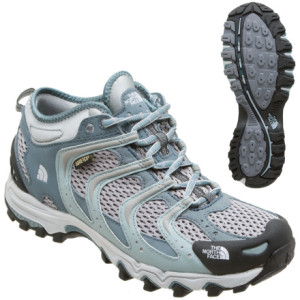 photo: The North Face Women's Gamble Mid GTX XCR trail shoe