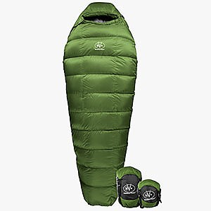 photo: Outdoor Vitals Summit 0 cold weather down sleeping bag