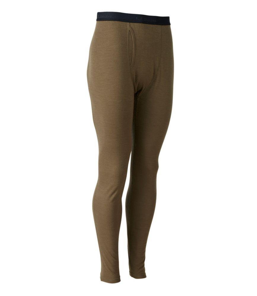 L.L.Bean Cresta Wool Midweight Base Layer, Pants