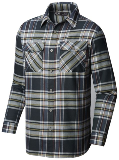 photo: Mountain Hardwear Trekkin Flannel Shirt hiking shirt
