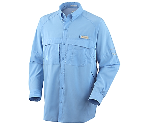 photo: Columbia Airgill Woven Long Sleeve Shirt hiking shirt