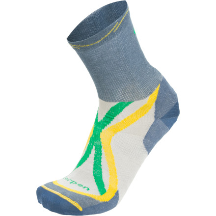 photo: Lorpen Tri-Layer Ultralight Shorty Sock running sock