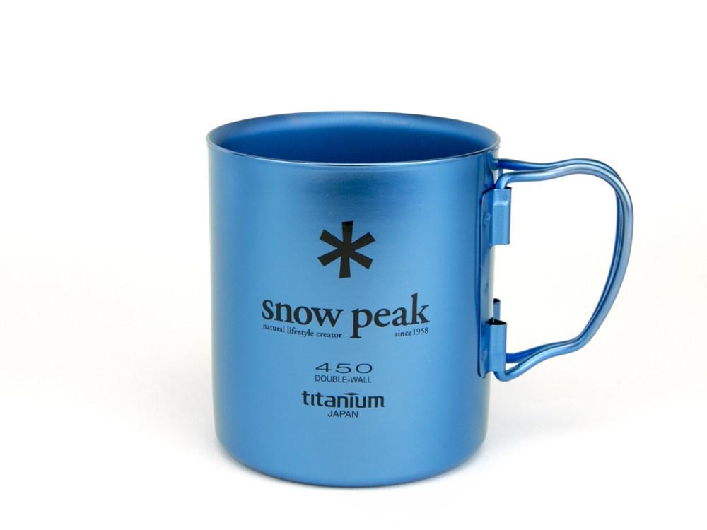 photo: Snow Peak Ti-Double 450 Colored Cup cup/mug