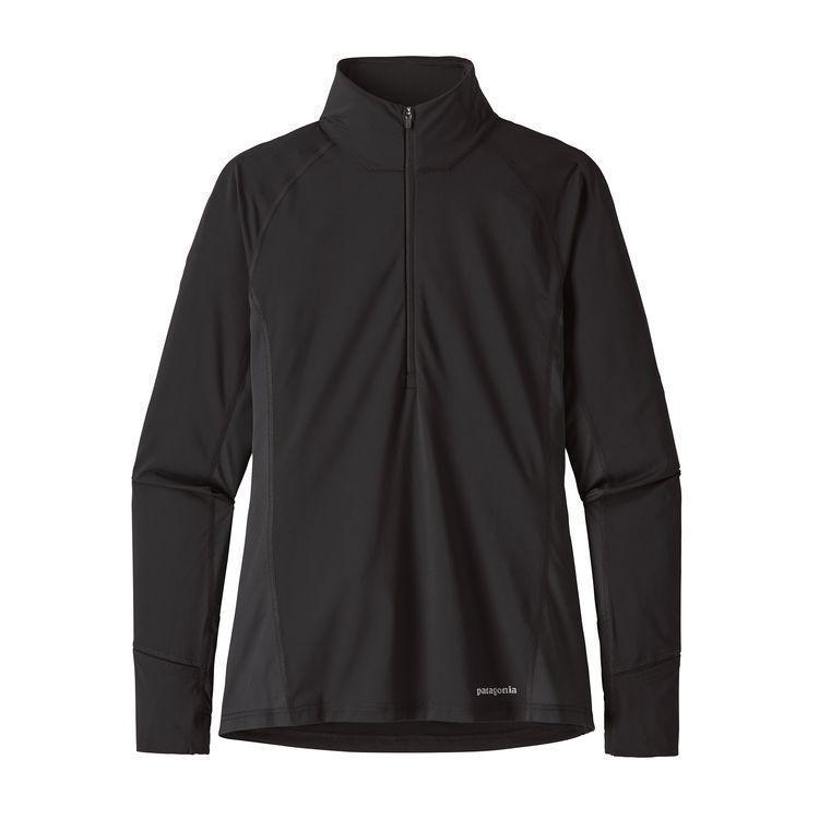 photo: Patagonia Women's All Weather Zip-Neck long sleeve performance top
