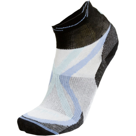 photo: Lorpen Women's Tri-Layer Ultralight Shorty Sock running sock