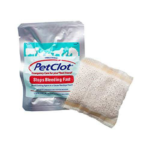 photo: QuikClot PetClot first aid supply
