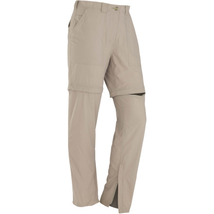 photo: ExOfficio Women's Insect Shield Convertible Pant hiking pant