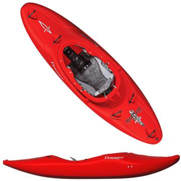 photo: Dagger Mamba Creeker 8.1 whitewater kayak